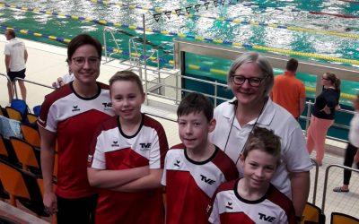 TVE Schwimmer starteten in den Schwimmhallen der Sportschule der Bundeswehr in Warendorf