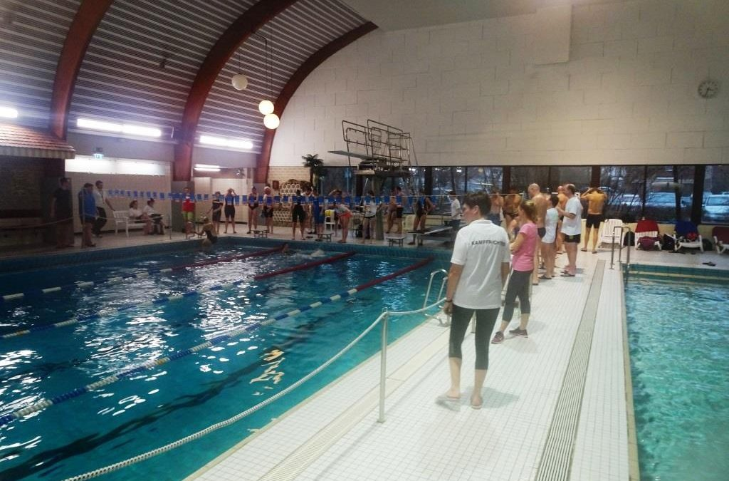 TVE-Mastersschwimmer veranstalten zum 15. Mal ihr Döüwelcup-Schwimmfest.