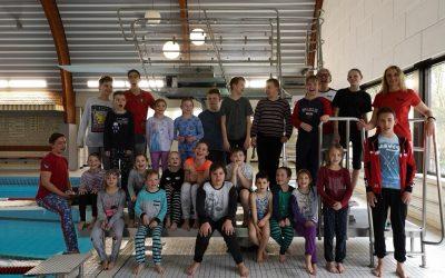 TVE Schwimmen lädt am 8. April '19 zum Schlafanzugschwimmen ein
