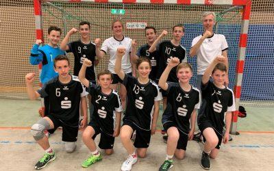 Der männlichen C-Jugend des TV Ennigerloh gelingt erneut der Sprung in die Oberliga; TVE-Jungen spielen ein starkes Qualifikationsturnier